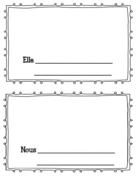 Le verbe etre- mini book
