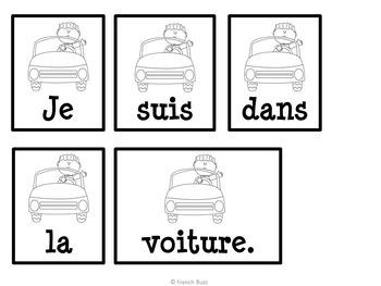 """Le verbe """"être"""" - 26 phrases mêlées"""