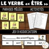 """Le verbe """"être"""" - Ensemble - 3 activités - Bundle"""