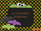 Le vocabulaire d'Halloween