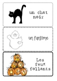 Le vocabulaire de l'Halloween - Halloween Word Wall