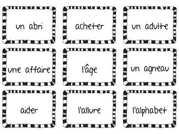 Le voleur de mots - Un jeu pour pratiquer la lecture