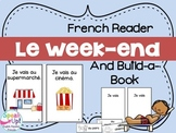 Le week-end | French Weekend Activities Reader | Printable | français
