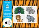 Le zoo ~ French Zoo Animal Vocabulary Digital BOOM™ Task Cards with Audio