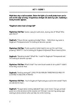 LeChuck's Revenge: A Pirate Story - Class Play Script