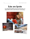 Léa au lycée: A comprehensible input-based story to teach French ER verbs