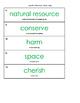 Lead 21 Grade 1 Vocabulary Cards