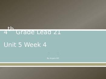 Lead 21 Unit 5 Week 4 Powerpoint