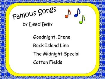 Lead Belly: Musician in the Spotlight
