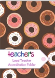 Lead Teacher Accreditation Folder (Australia)