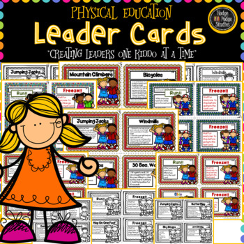Physical Education Leader Cards (Bundle)