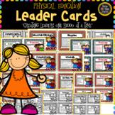 Physical Education Leader Cards (Bundle)