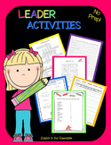 Leader Activities-by Leader in the Classroom