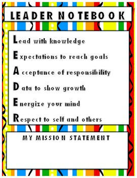 Leader Binder Cover by The Reading Olympians | Teachers ...