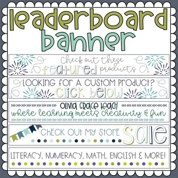 Leader Board Bannner