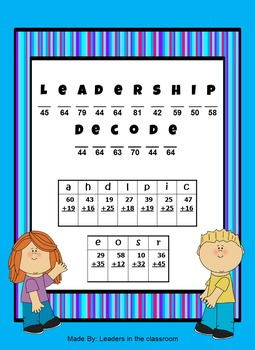 Leader Decode - by leader in the Classroom