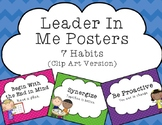 Leader In Me Posters: Clip Art Version