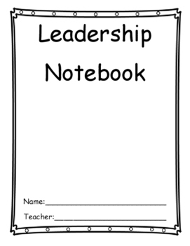 Leader Notebook Inserts