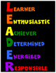 Leader Posters for Character Education