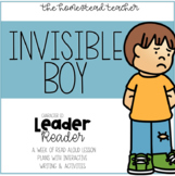 Leader Readers: The Invisible Boy Interactive Read Aloud