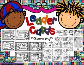 Leader Cards (Sampling)
