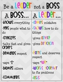 Leader Vs. Boss Poster