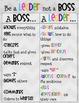 Leader Vs. Boss Poster