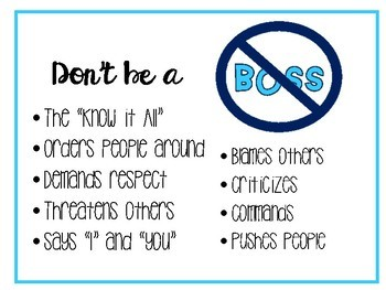 Leader Vs. Boss Posters