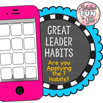 Leader Habits: I Phone Texts!  Are you 'App'lying the Habits?