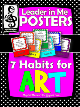Leadership Habits for ART!  (FREEBIE included in the preview)