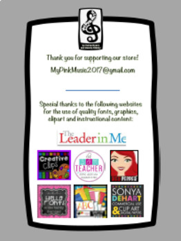 Leadership Habits for ART!  (FREEBIE preview) all stripes design