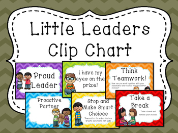 Little Leaders Clip Chart