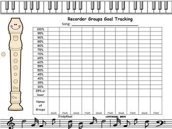 Recorder Goals Chart