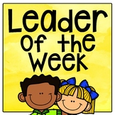 Leader of the Week Sign