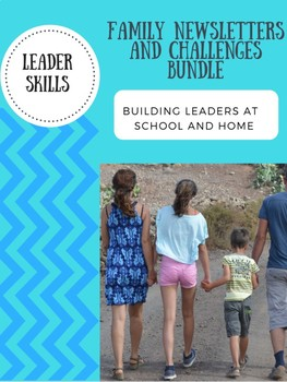 Leaders At Home Newsletter and Challenge Bundle