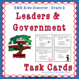 Leaders and Government l HMH Kids Discovery l Grade 2 TASK CARDS