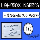 Leaders at Work Lightbox Inserts