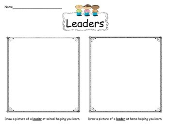 Leaders at home and at school