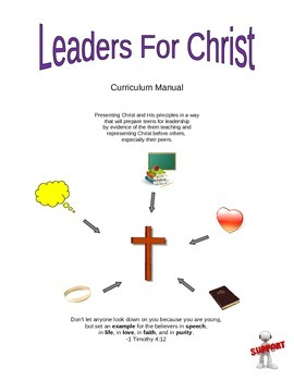 Leaders for Christ- Small Group Bible Study for Teens