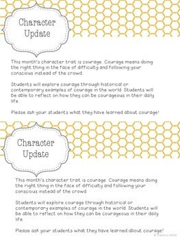 Character Ed Lesson Pack on Courage for K-5