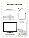 Leaders in My Life - Student Leadership Binder