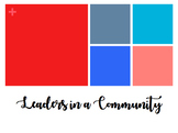 Leaders in a Community