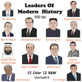 Leaders of Modern History, Men In Power