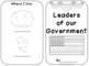 Leaders of our Government Booklet