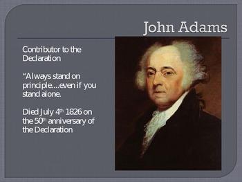 Leaders of the American Revolution slideshow