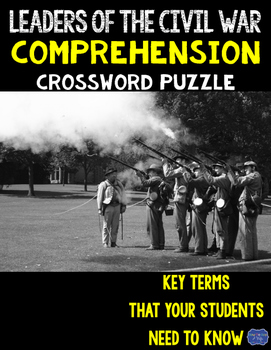 Leaders of the Civil War Crossword