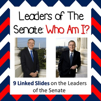Leaders of the Senate: Who Am I?