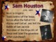 Texas History - Leaders of the Texas Revolution Presentation