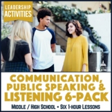 Public Speaking Communication Activities for Student Council Leadership