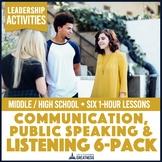 Active Listening Public Speaking Communication Activities 6-Pack